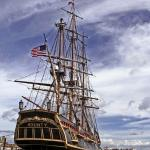 HMS Bounty replica near Peanut Island