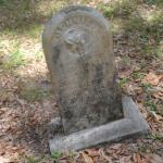 One of the Many Old Headstones here