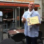 Damien Remy propriétaire et chef de cuisine.