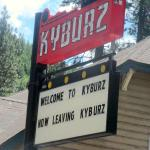 Strawberry Lodge Sign, Highway 50, Kyburz, Ca