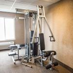Get in shape with our well maintained fitness room!
