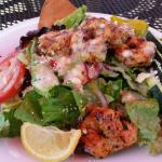 Greek Salad w/ Shrimp