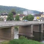 Waldhotel Sonnenberg, gezien vanuit de brug van Bollendorf 2