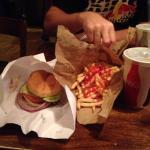 burger joint Photo