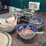 salsas y tortillas
