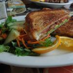 Havarti, Bacon, Tomato and Avocado Grilled Cheese special