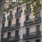Fachada de Hostal Fontanella