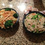 Take Out Chinese Fried Rice and Noodles