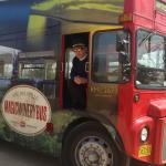 Wolfville Magic Winery Bus Photo