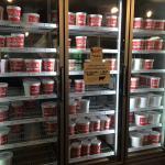 Inside the ice cream shoppe