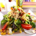 Outstanding Conch Salad - and prepared gluten free!