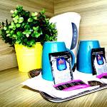 Plateau thé café offert dans chaque chambre
