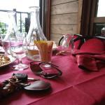 tavolo a fine pasto