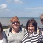 sisters brill time at Aqua Bay Herne Bay