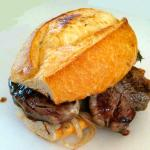Filet mignon sandwitch, a must try