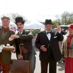 Charlie Chaplin and Winston Churchill were there too.