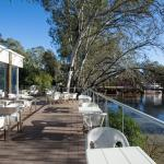 Bask in the sunshine on the banks of the little Murray