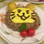 Lion roll cake