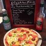 Pizza du mois de juin  La méditerranéenne