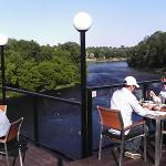 View from the top deck of the Grand River
