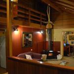 Te Ruru Lodge. Warm and homely.