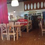 Wnętrze restauracyjne niezwykle zaskakujące