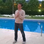 Ay la piscina... Qué tardes mágicas de descanso y risas :)
