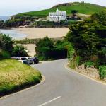 The view as you drive into Bigbury - what a way to start a holiday!