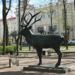 Sculpture Deer