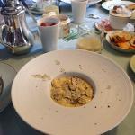 brouillage d'oeufs aux truffes