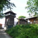 Gasthaus mit Turm