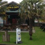 Front view of the Fish & Chip area