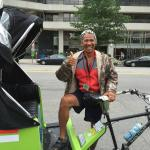Rob, our National Pedicab driver/tour guide in Washington!