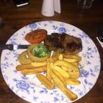 Not the best quality food here  The lettuce looked like it had been out for hours  The steak was