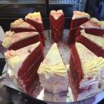 Yummy Red velvet cake