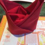 Chinese Hat (OK.....napkin)