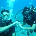 mergulho com Mahana Dive