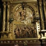 Iglesia de Belen inside the altar
