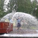 Mucha agua