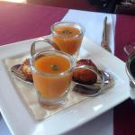 complimentary starters
