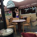 Belly Dancer at Armenian Cafe