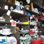 Some things for sale inside