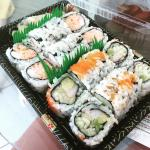 California and Tokyo rolls for carry out.