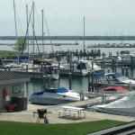 our table's view of the harbor