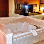 Without asking, we were upgraded to a Jacuzzi room! Nice surprise!