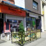 Entrance to Rendezvous Restaurant