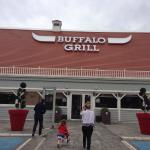 Basic but clean and very comfortable! Buffalo Grill right opposite hotel
