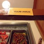 Gulab Jamun (milky spongy balls in rose scented syrup)