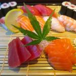 Sahimi & sushi set
