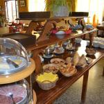 Buffet du petit-déjeuner
